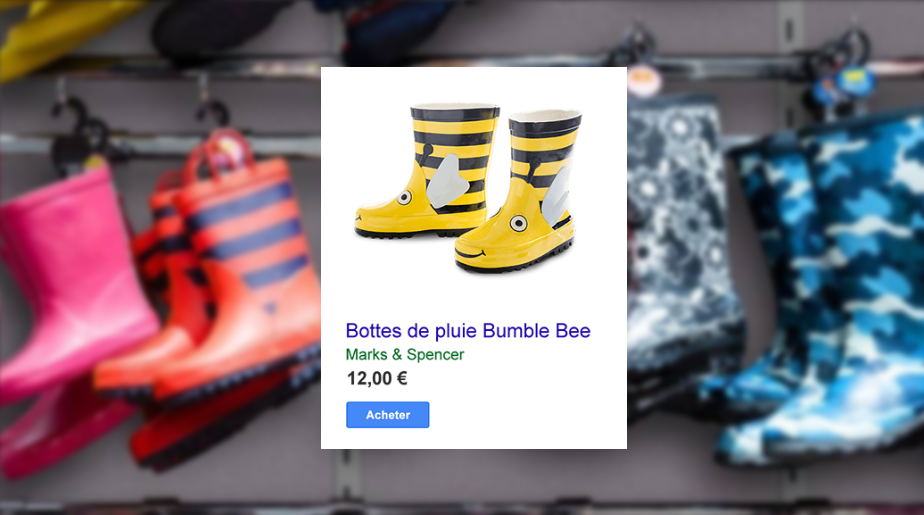 exemple d'annonce google shoping